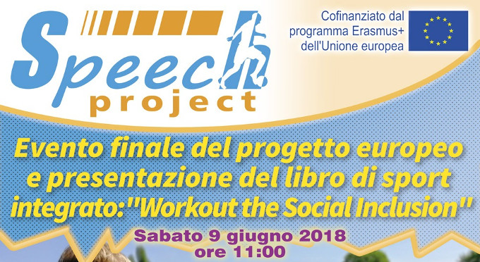Speech Project Evento Finale e Presentazione Libro